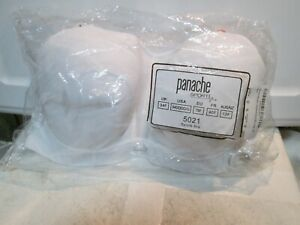 Panache Underwired White Sports Bra SIZE 34DDDD/G NEW