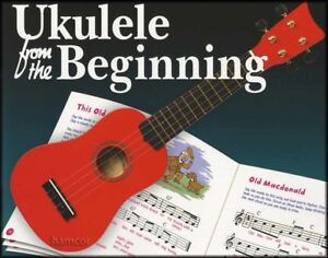 Ukulele from the Beginning Music Book Learn How to Play Beginners Method