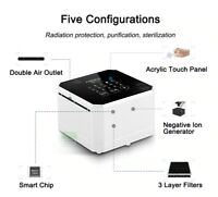 Plug In Touch Screen Air Purifier Ionizer Neutralizer Ozone Generator humidifier