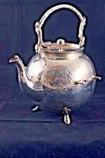 Antique Tea/Coffee/Chocotate Pot~WM Gibson~Belfast~~Whimsical, Round Shape~Irish