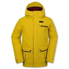 New 2016 Volcom Mens Pat Moore Insulated Snowboard Jacket Medium Yellow
