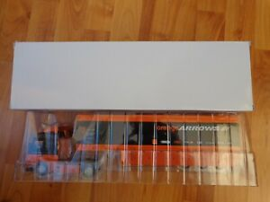 1/43 F1 COLLECTION SUBSCRIBER SPECIAL ORANGE ARROWS TEAM TRANSPORTER TRUCK SENNA