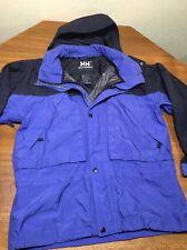 Helly Hansen Mens Helly Tech Waterproof Nylon Hooded Parka Jacket Sz S
