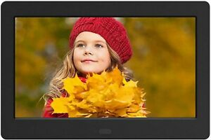 "7"" Inch HD LED Digital Photo Frame USB Clock Music Video Player Remote Control"
