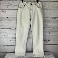 Vintage Levis 506xx Mens 36 X 34 White Jeans Made In USA XX Denim 5 Pocket