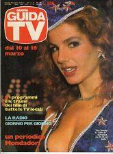 rivista NUOVA GUIDA TV ANNO 1985 NUMERO 10 TINI CANSINO