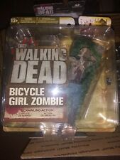 McFarlane Toys THE WALKING DEAD Tv Series 2 BICYCLE  GIRL ZOMBIE perfect shape