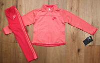 Nike Girl Jogging Set ~ Tracksuit ~ Coral & Pink ~