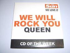 QUEEN - We Will Rock You UK 2002 Parlophone/The Sun CD