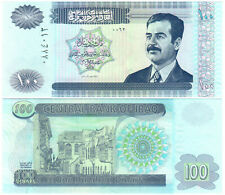 Iraq 100 Dinars P#87 (2002) Central Bank of Iraq UNC