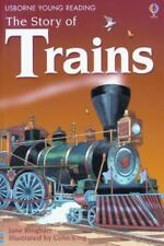 Usborne Young Readers: The Story of Trains by Jane Bingham (2004, Paperback)