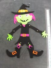 22 Inch Felt witchHalloween Decor new with tags