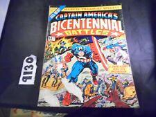 Captain Americas Bicentennial Battles Treasury Worn NO STOCK PHOTOS Listing A