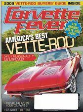 Corvette Fever Magazine Feb 2009 4th Annual Vette-Rod Issue Cover