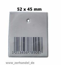 Softetiketten 52x45 Weichetiketten RF 8.2MHz Artikelsicherung Warensicherung