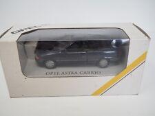Gama 1:43 Opel Astra F Cabrio Werbemodell Dunkelblau