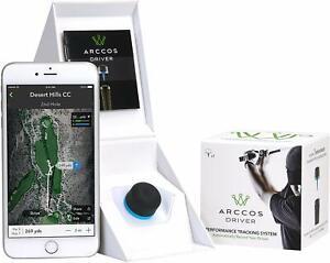 Arccos Smart Sensor GPS Golf Performance Driver Tracking System Swing Aid