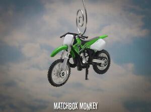 Kawasaki KX250 Motorcycle Dirt Bike Custom Christmas Ornament 1:32 Scale FX 90's