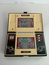 PINBALL GAME & WATCH NINTENDO MULTI SCREEN PB-89 1983 HANDHELD CONSOLE VINTAGE