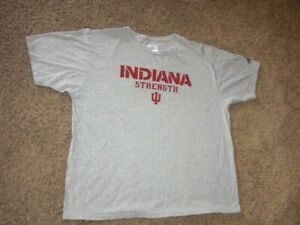 INDIANA HOOSIERS STRENGTH Team Issued athletic shirt football 2XL