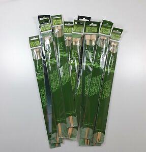 Clover Takumi Bamboo Knitting Needles 33 cm long - various sizes