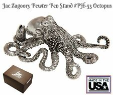Jac Zagoory #53 / Octopus Pen Holder in Pewter / Made in The USA