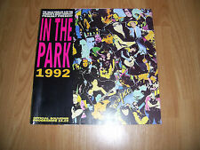 IN THE PARK 1992 FESTIVAL PROGRAMME-CULT/PEARL JAM/NEDS/SPIRITUALIZED