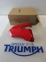 TRIUMPH STREET TRIPLE & R REAR SEAT COWL DIABLO RED A9708271 CW 2013 - 2017