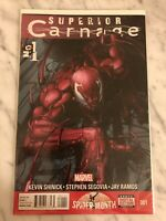 Superior Carnage #1 FN 2013 Marvel Comic