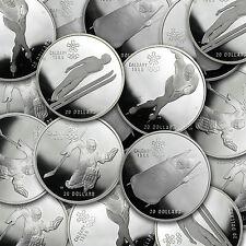 1988 Canadian 1 oz Proof Silver $20 Calgary Olympics Coin - SKU #40587