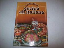 GUIDA ALLA CUCINA ALL'ITALIANA-CDE su licenza MONDADORI-1980-RILEGATO!