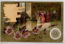 ROMA Vaticano Il PAPA negli Appartamenti Borgia Pope Saint-Père PC Circa 1900