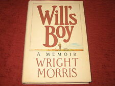WILL'S BOY by Wright Morris (1981, Hardcover)