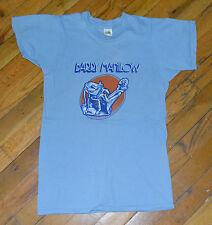 RaRe *1975 BARRY MANILOW* vtg concert tour promo t-shirt (S) 70s Arista Records