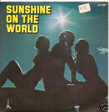 """45 TOURS COMEDIE MUSICALE """"SUNSHINE ON THE WORLD""""-1978"""
