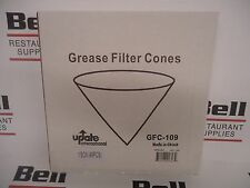 *New* Update Gfc-109 Grease Filter Cones x40 (40 Count Box) - Free Shipping