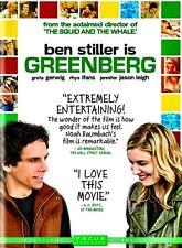 Greenberg (USED  DVD) Ben Stiller,Greta Gerwig,Jennifer Jason Leigh,Mark Dupl