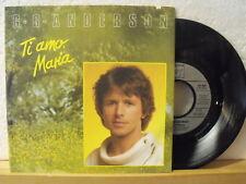 """7"""" Single - G.G. ANDERSON - Ti amo, Maria - Cheerio - Hansa 1986"""