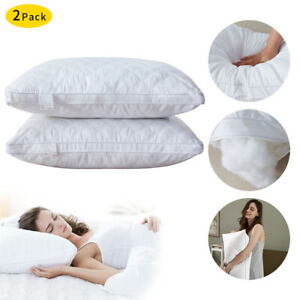 29.5'' Bed Pillow Soft Luxury Hotel Back Sleeper & Hypoallergenic-Queen Size