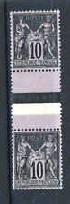 """FRANCE STAMP TIMBRE 89f """" SAGE 10c TYPE II TENANT A 103 TYPE I""""NEUFxx/x TTB R384"""