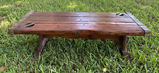 Liberty Ship Hatch Door Cover Coffee Heavy Wood Table Wwii