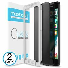 iPhone 5 c 6 s 7 8 X Plus 3D Screen Protector Maxboost Tempered Glass