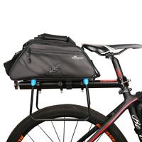 Cycling Rear Seat Rack Trunk Bag Pannier Waterproof Shoulder Bag High Capacity