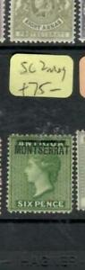 MONTSERRAT  (PP0807B)  QV  6D  SG 2   MOG