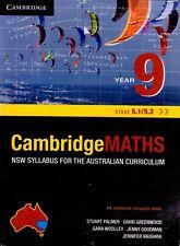Cambridge Maths Year 9 (Stage 5.1/5.2) NSW Syllabus (Paperback - Textbook)