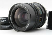 【TOP MINT + Hood 】 Mamiya N 65mm f4 L MF Lens For Mamiya 7 II From JAPAN g43