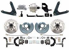 """1967-72 Mopar B & E-Body Performance 8"""" Chrome Power Disc Brake Conversion"""