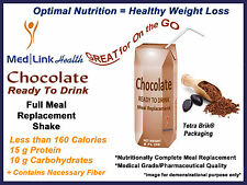 CHOCOLATE READY-TO-DRINK SHAKE Weight Loss | 1 Case | SIMILAR TO Optifast® 800