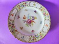 Vintage Schumann Porcelain Cake Plate, 1950's Arzburg Germany, Floral Dish