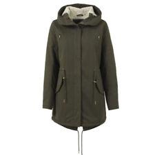 Abrigos y chaquetas de mujer Parka color principal verde 100% algodón